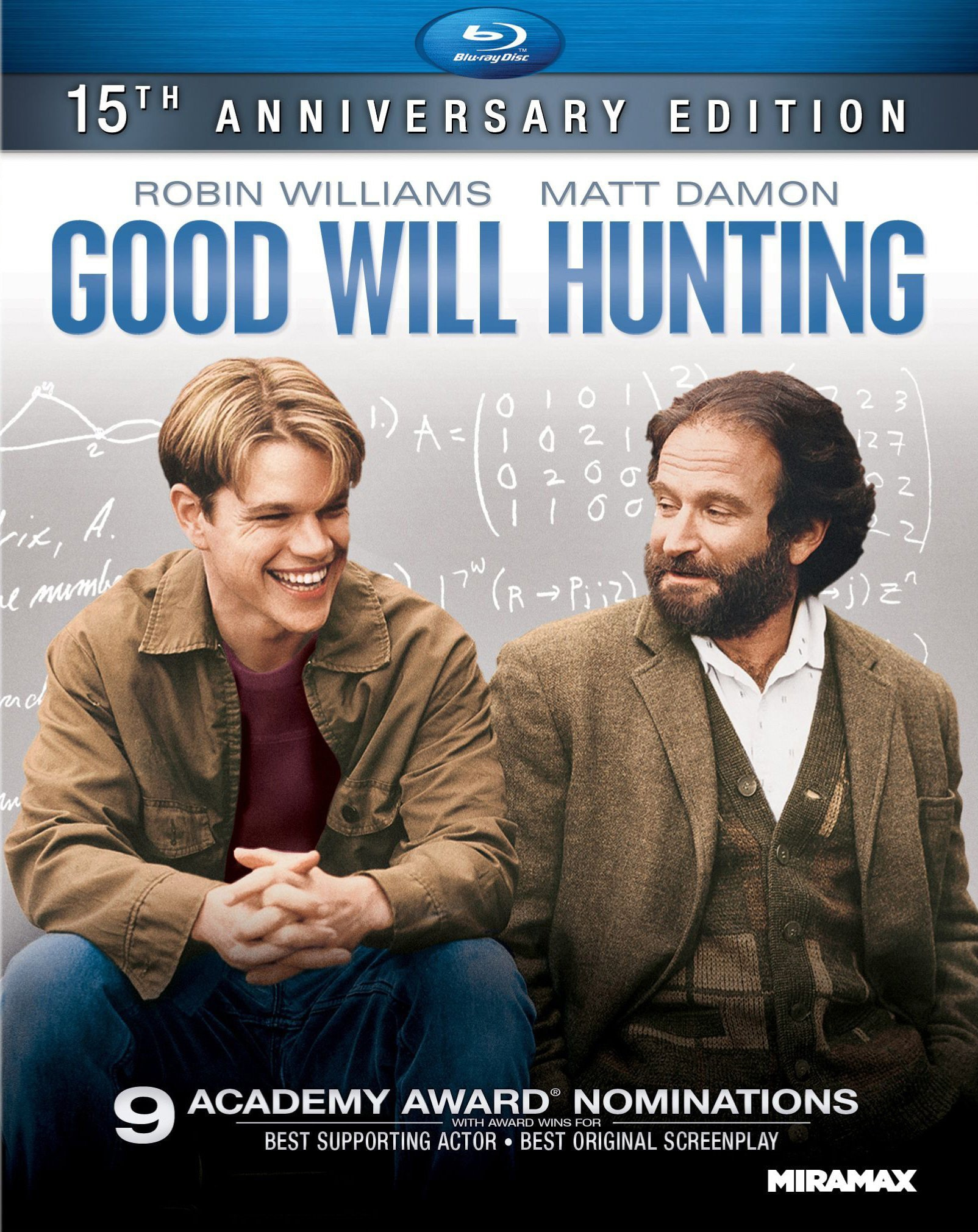 Good Will Hunting 15th Anniversary Edition (Blu-ray Disc)