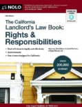 The California Landlord's Law Book: Rights & Responsibilities (Paperback)