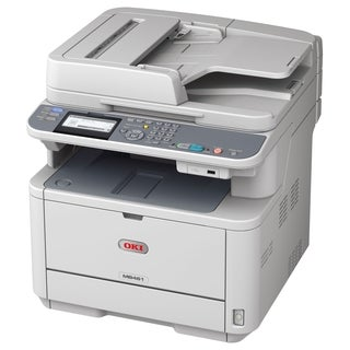 Oki MB461 LED Multifunction Printer - Monochrome - Plain Paper Print