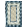 Color Market Blue Accent Rug (2' x 3')