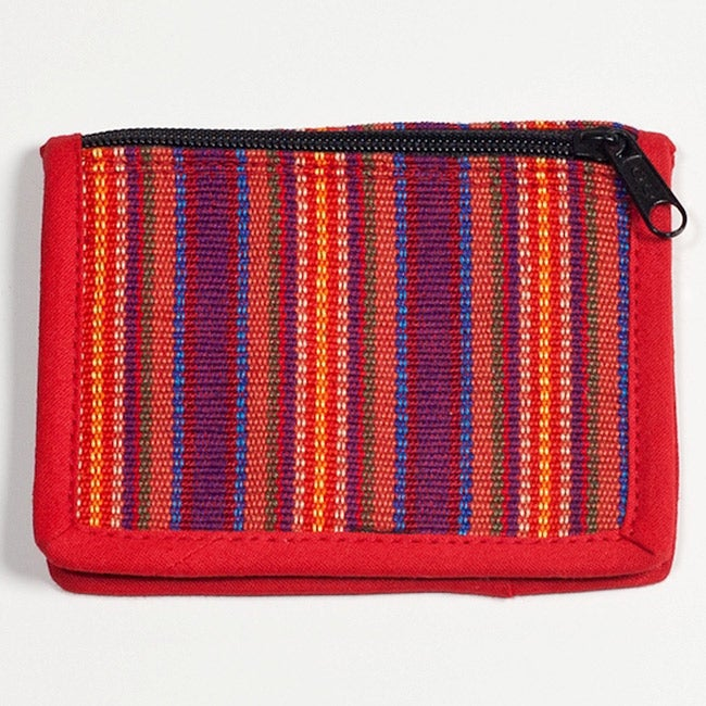 Handmade Credit Card and Business Card Holder (Guatemala)