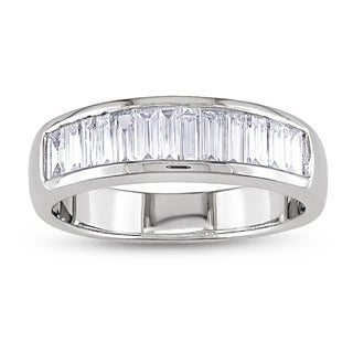 Miadora 18k White Gold 1ct TDW Diamond Ring (G-H, VS1-VS2)