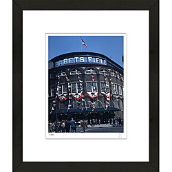 RetroGraphics Ebbets Field Framed Sports Photo