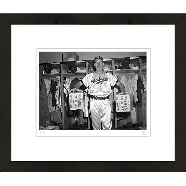 RetroGraphics Gil Hodges Framed Sports Photo