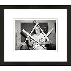RetroGraphics Officially-Licensed Gil Hodges Framed Sports Photo