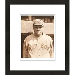 RetroGraphics Babe Ruth Rookie Era Framed Sports Photo