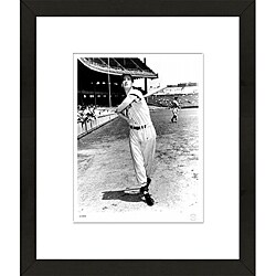 RetroGraphics Ted Williams 1950's Framed Sports Photo