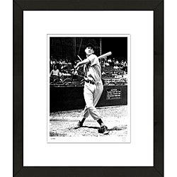 RetroGraphics Officially Licensed Ted Williams Framed Sports Photo