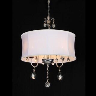 Elegant Round Crystal Chandelier