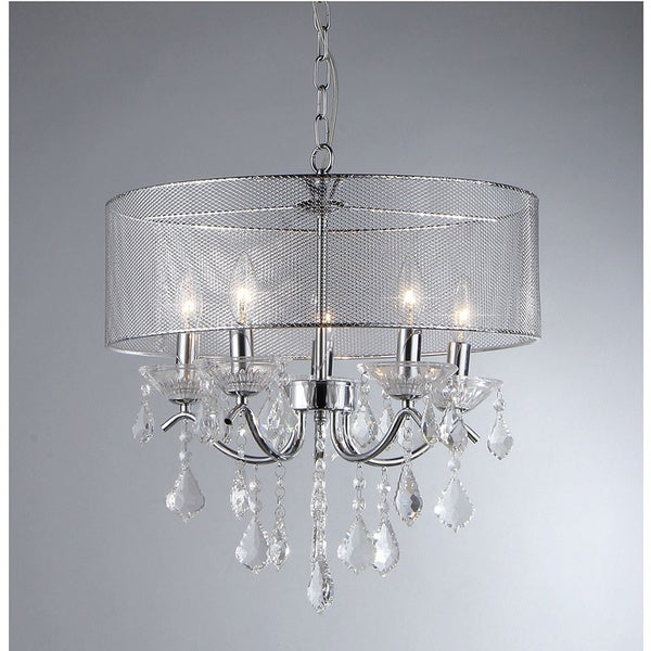 Crystal 5-light Pendant Lamp
