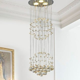 Crystal Shower Chandelier