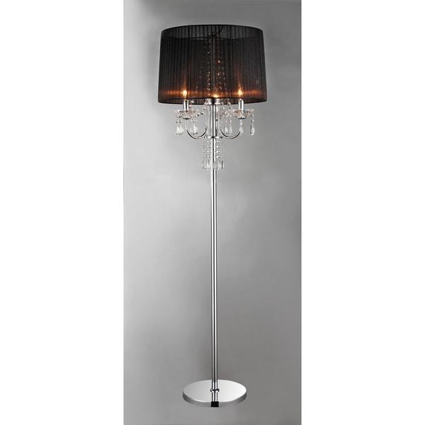 crystal elegance floor lamp 14284759 shopping. Black Bedroom Furniture Sets. Home Design Ideas