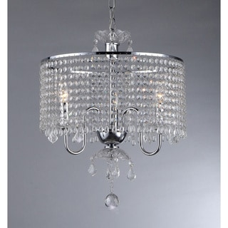 Crystal Beaded Pendant Lamp