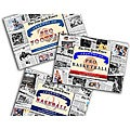Collectible Newspaper Legends of Baseball, Football, and Basketball Gift Set