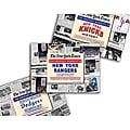 Collectible Newspaper Greatest Moments in Knicks, Rangers, and Brooklyn Dodgers History Gift Set