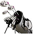 Pro Score Nano Elite White 14-piece Women's Golfing Outfit Set
