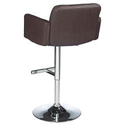 Sunpan Churchill Adjustable Brown Barstool