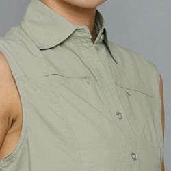 10,000 Feet Above Sea Level Women's Fossil Outdoor Sleeveless Shirt