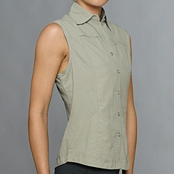 10,000 Feet Above Sea Level Women's Fossil Outdoor Sleeveless Shirt