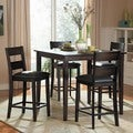 ETHAN HOME Ethan Burnished Brown 5-piece Counter Height Set