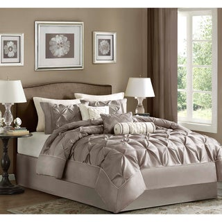 Madison Park Vivian Polyester Solid Tufted 7-piece Comforter Set