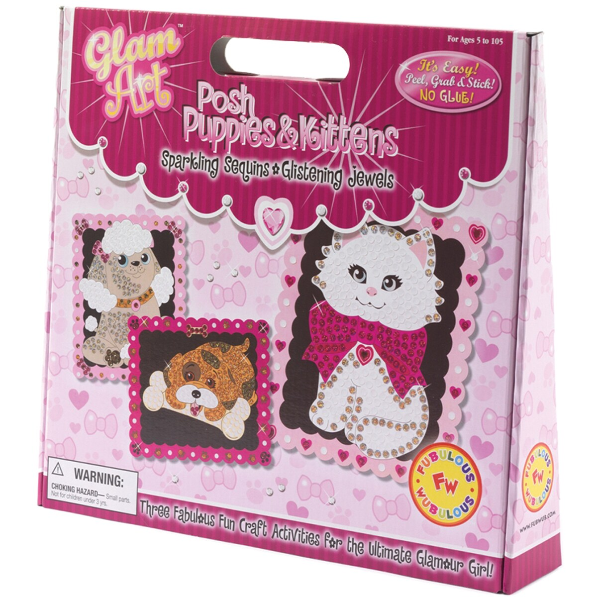Do-A-Dot Glam Art Kit-Posh Puppies & Kittens