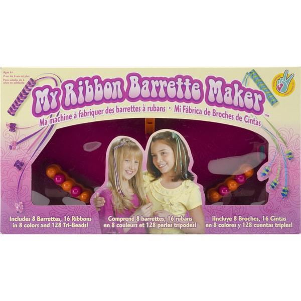 My Ribbon Barrette Maker Kit