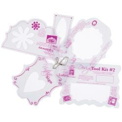 Hot Off The Press Templates 12X12IN-Design Tool Kit #2