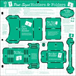 Hot Off The Press Templates 12X12IN-Pint-Sized Holders & Folders
