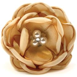 Laliberi Quick Clip Flowers 1/Pkg-Pearl And Lace Pink