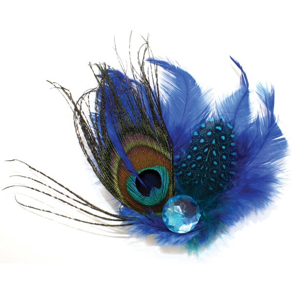 Laliberi Quick Clip Flowers 1/Pkg-Peacock Ensemble