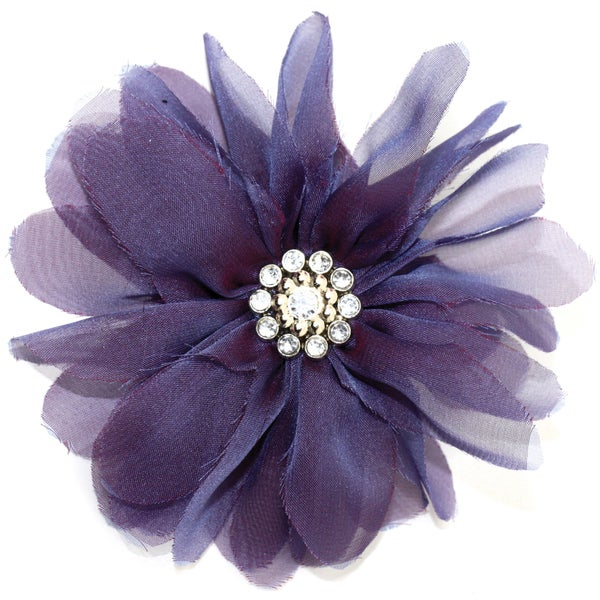 Laliberi Quick Clip Flowers 1/Pkg-Billow Bloom Purple