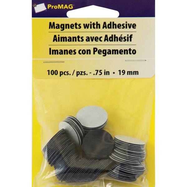ProMag Round Magnets- 100/Pkg