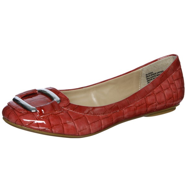 Sam & Libby Women's 'Goal' Red Flats FINAL SALE