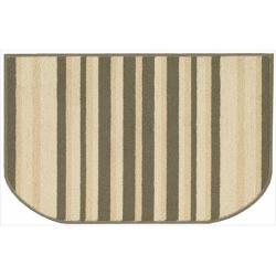 Nourison Essentials Stripe Green Rug (2'6 x 1'7)