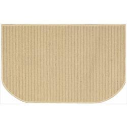 Nourison Essentials Stripe Beige Rug (2'6 x 1'7)