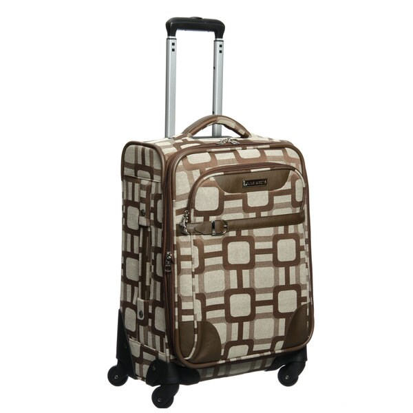 Nine West Super Sign 20-inch Expandable Carry On Spinner Upright Suitcase