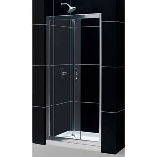 DreamLine Butterfly Frameless 30-31.5 x 72-inch Bi-Fold Shower Door