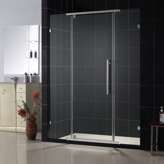 DreamLine Vitreo 58.125x76-inch Frameless Pivot Shower Door