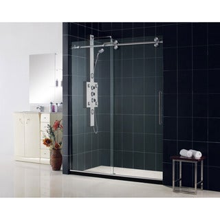 DreamLine Frameless Clear Glass Sliding Shower Door
