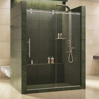 DreamLine Enigma 56-60x79-inch Fully Frameless Sliding Shower Door