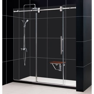 DreamLine Enigma 68-72x79-inch Fully Frameless Sliding Shower Door