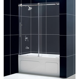 DreamLine Frameless Glass Tub Door