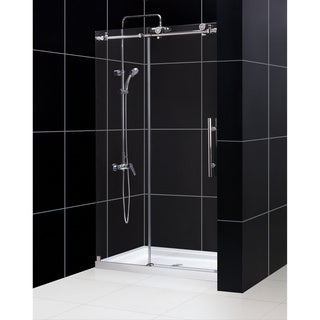 DreamLine Enigma-X 44-48x76-inch Fully Frameless Sliding Shower Door