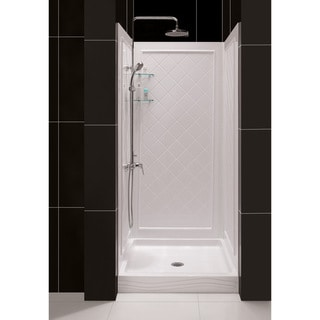 DreamLine 34-38 in W Qwall Back Wall Shower Kit