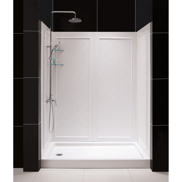 DreamLine Qwall Back Wall Shower Kit