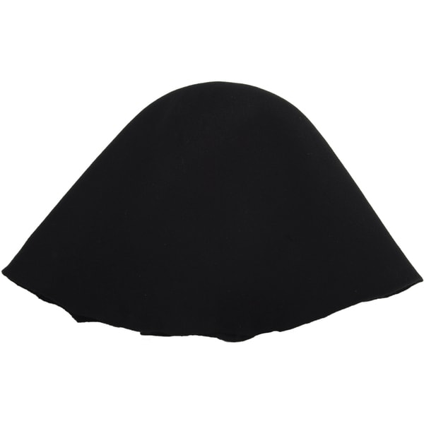 Millinery Base Wool Hoods-Black