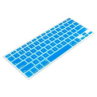 BasAcc Sky Blue Silicone Keyboard Skin Shield for Apple MacBook Pro