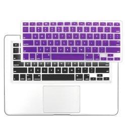 INSTEN Purple Soft Silicone Keyboard Skin Shield for Apple MacBook Pro