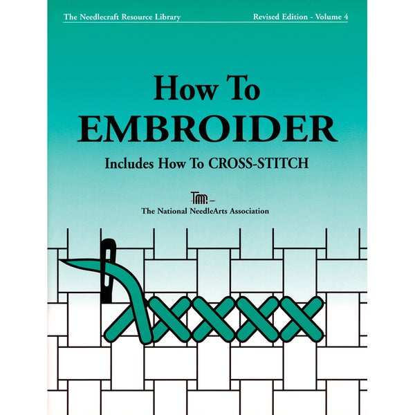TNNA Books-How To Embroider & Cross-Stitch